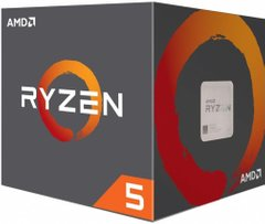 Процесор AMD Ryzen 5 1600 sAM4 (3.2/3.6GHz Boost,19MB,65W) WS cooler BOX