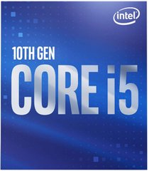 Процесор Intel Core i5-10600 s1200 3.3GHz 12MB Intel UHD 630 65W BOX