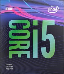 Процесор Intel Core i5-9400F s1151 2.9GHz 9MB 65W BOX