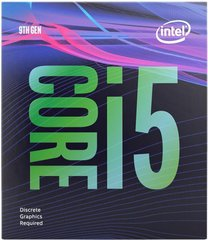 Процесор Intel Core i5-9400 6/6 2.9GHz 9M LgA1151 (BX80684I59400)
